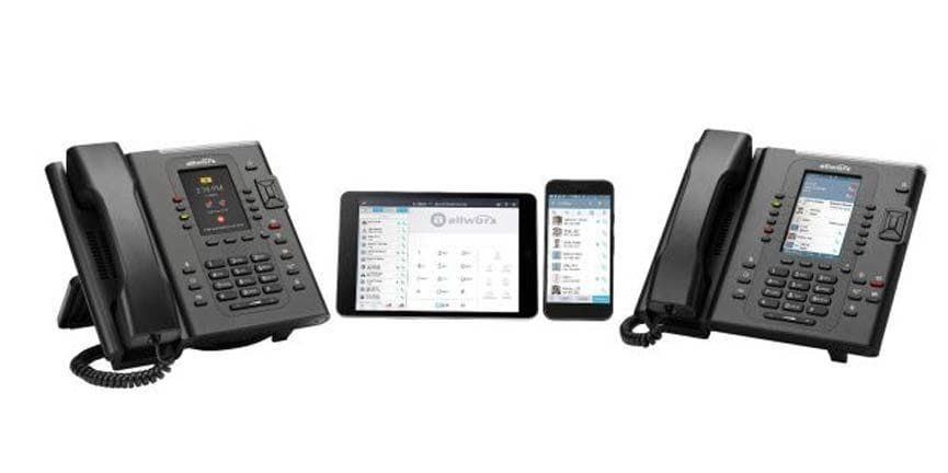 allworx phones and mobile applications