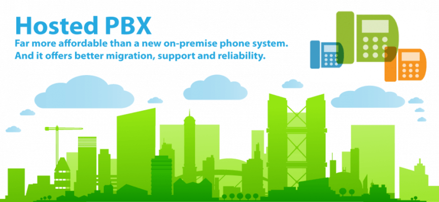 hosted PBX advantages