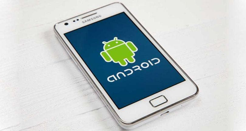 android os on samsung smartphone device