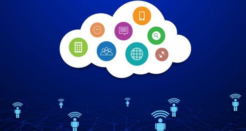 employees accessing services located in the cloud