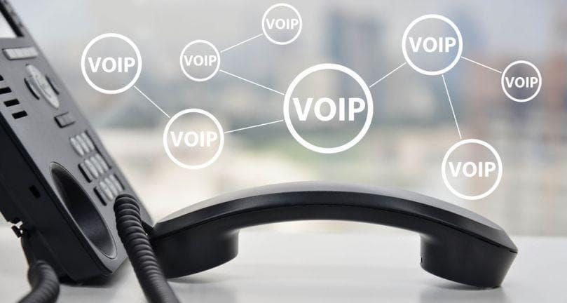 voice over ip deskphone