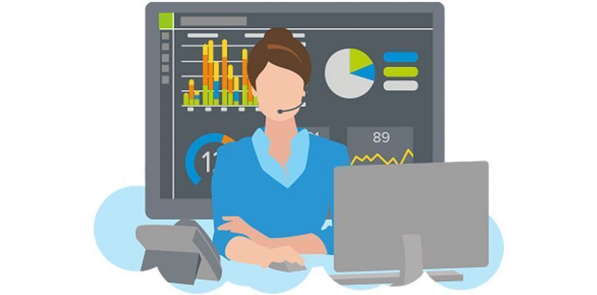 jive contact center with real-time analytics