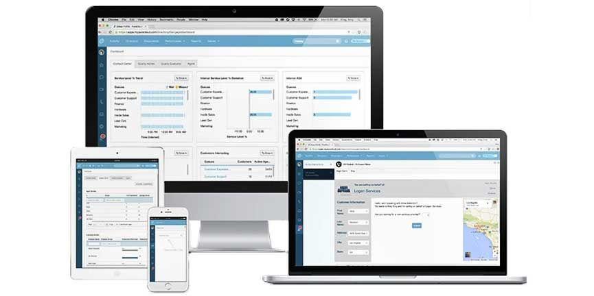 genesys purecloud product desktop laptop mobile tablet views