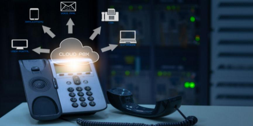 voip phone and cloud pbx