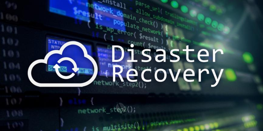 disaster recovery concept
