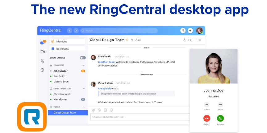 RingCentral Desktop App