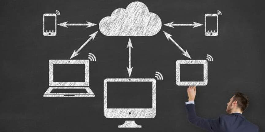 cloud network of devices