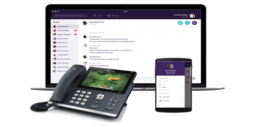 fuze connect unified communications