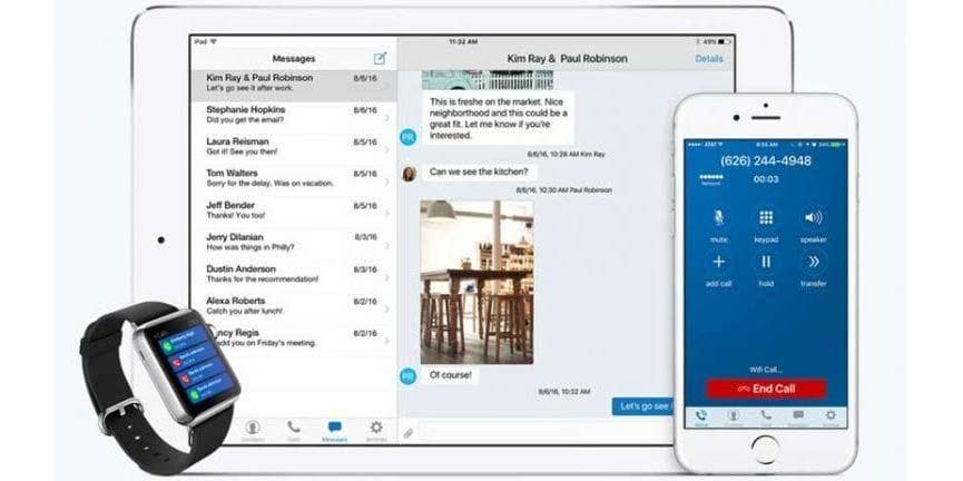 Line2 Addressing the Needs of a Millennial Workforce with iOS App