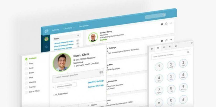 genesys purecloud dash user interface mobile app