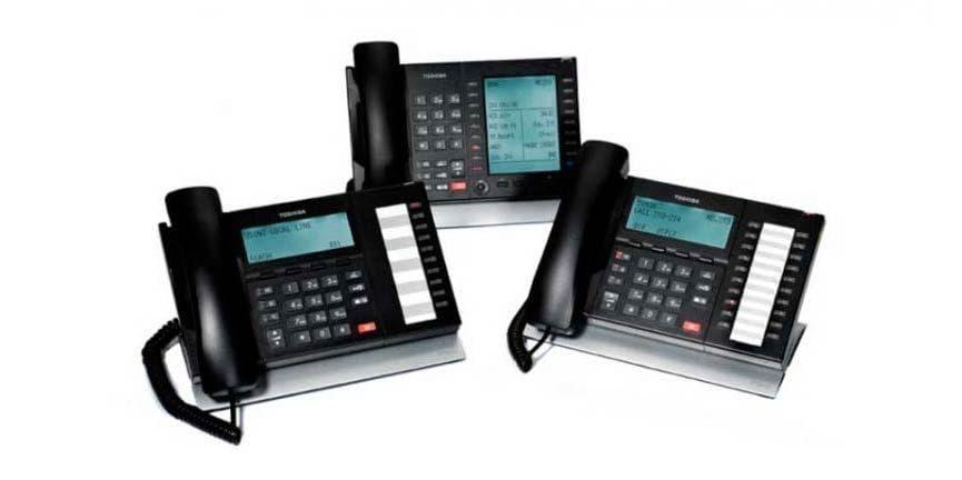 toshiba ip phone set of desktop phone models