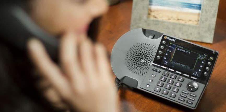 shoretel IP enabled desk phone