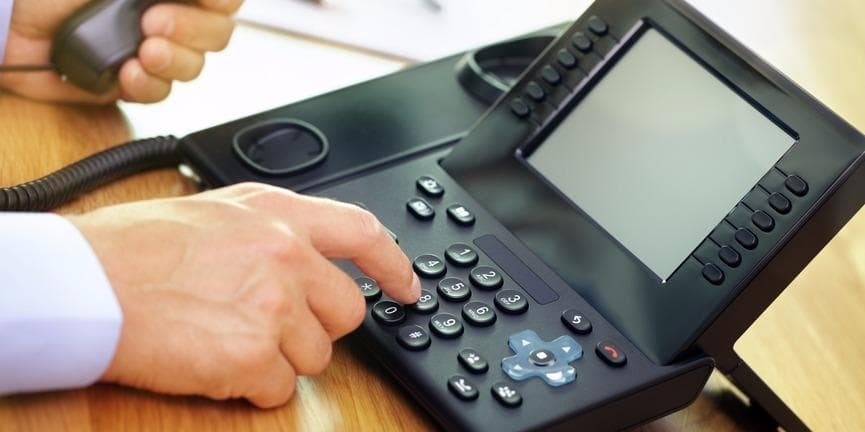 Dialing VoIP telephone