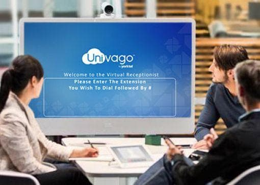 using univago to host a company meeting