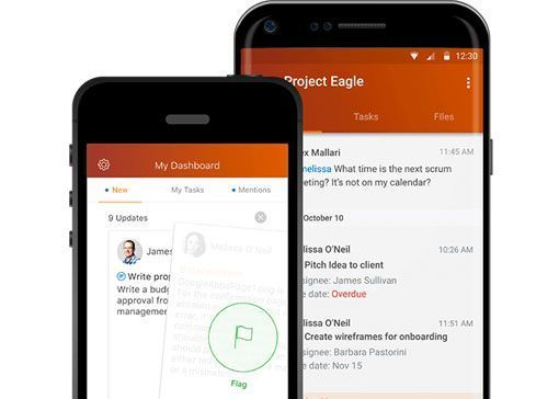 ShoreTel Teamwork mobile app