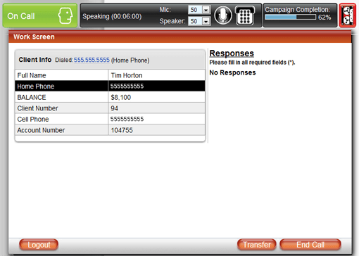 tcn platform 3.0 cloud contact center user dashboard