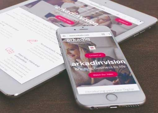 Arkadin Vision on smartphone and tablet