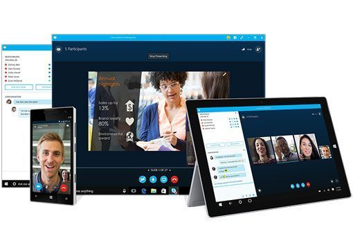 skype for business product line up
