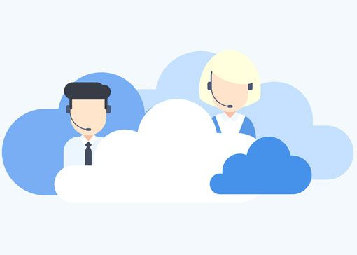 contact center agents in the cloud