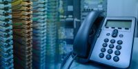 business phone with pbx network