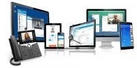 collab9 unified communications solution on mobile tablet desktop devices