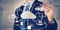 Cloud communication concept