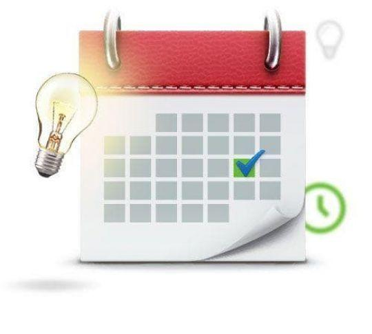 monthly billing calendar