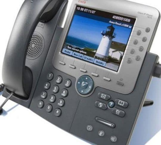 VoIP phone as a remote worker would use it