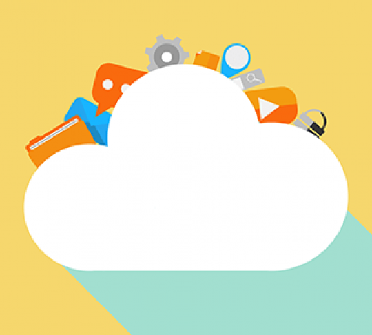 cloud storage with folders and file sharing