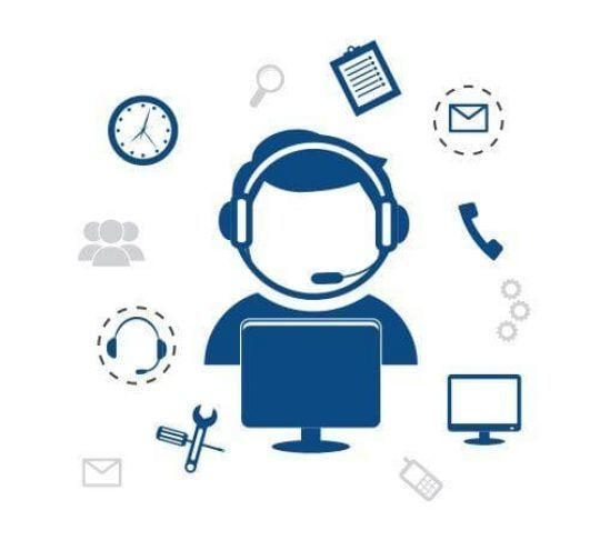 call center features and settings