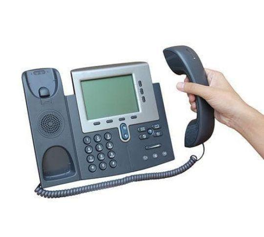 using a voip-enabled phone