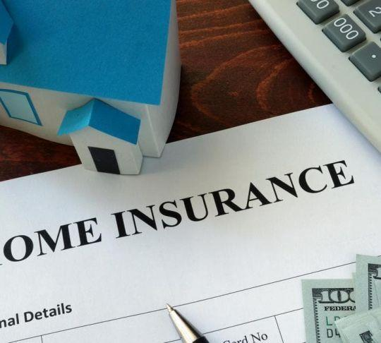 home insurance paperwork