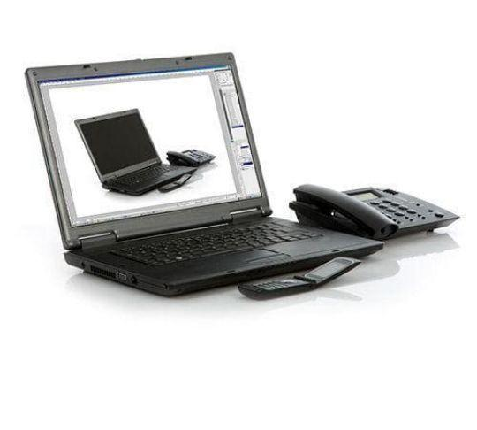 softphone laptop computer