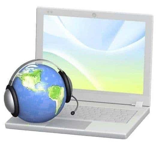 using a headset to call via a computer