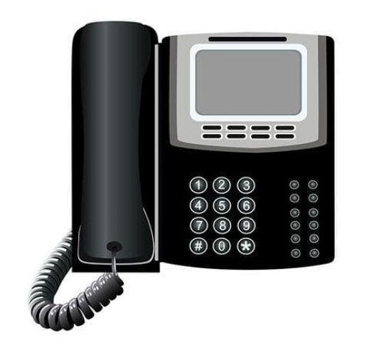 office phone used for business VoIP