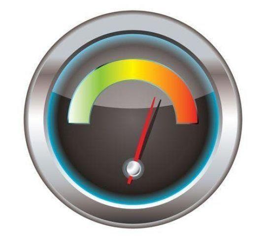 upload speed gauge