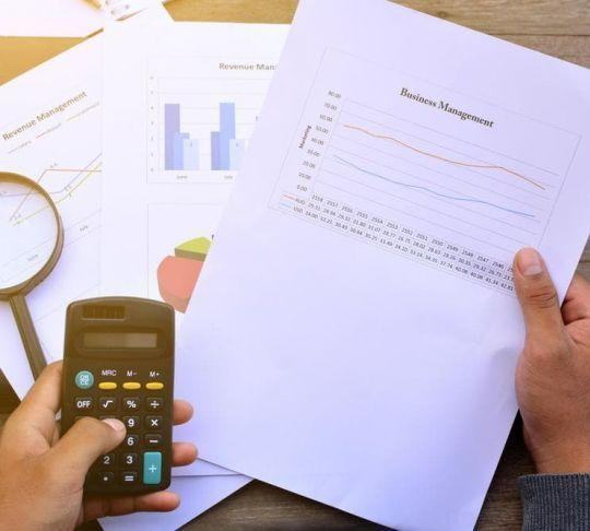 comparing financial sheets and overall costs