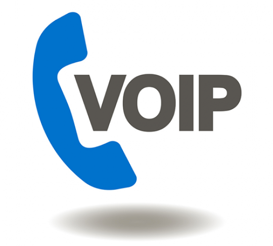 voice over internet protocol phone icon