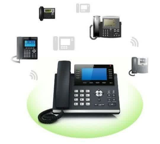 new VoIP telephones