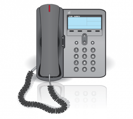 VoIP-enabled phone